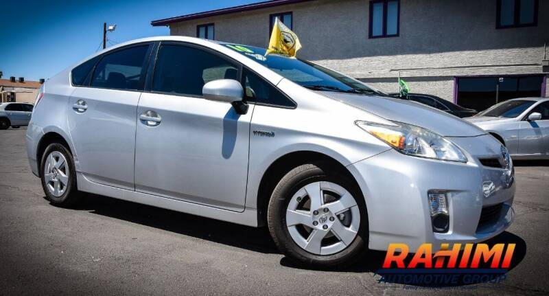 2010 Toyota Prius for sale at Rahimi Automotive Group in Yuma AZ