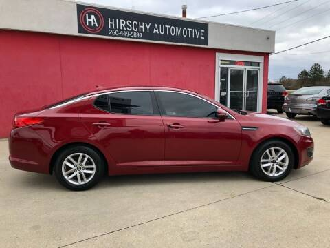 2011 Kia Optima for sale at Hirschy Automotive in Fort Wayne IN