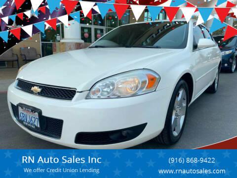 2008 Chevrolet Impala for sale at RN Auto Sales Inc in Sacramento CA