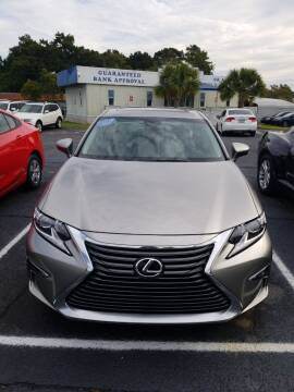 2016 Lexus ES 350 for sale at Sun Coast City Auto Sales in Mobile AL