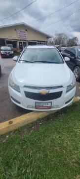 2012 Chevrolet Cruze for sale at Chicago Auto Exchange in South Chicago Heights IL