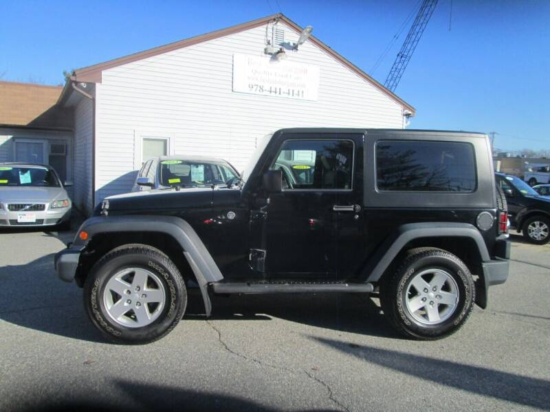 2009 Jeep Wrangler for sale at BEST AUTO BARGAIN inc. in Lowell MA