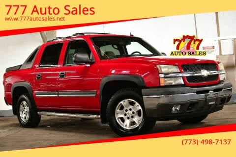 2005 Chevrolet Avalanche for sale at 777 Auto Sales in Bedford Park IL