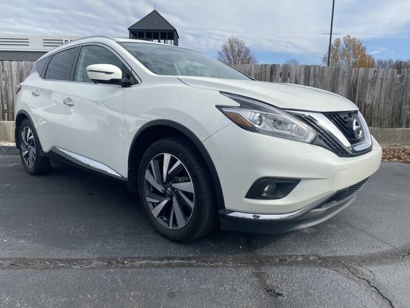 2017 Nissan Murano for sale at The Auto Shoppe in Springfield MO