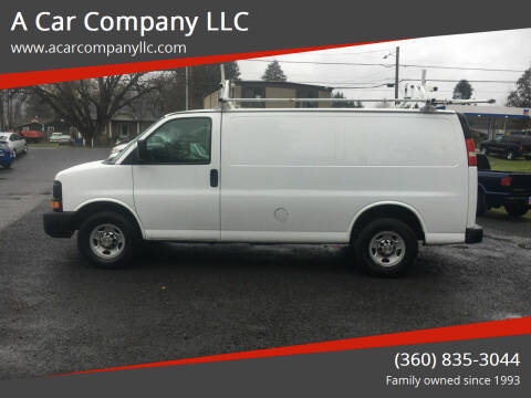 2013 Chevrolet Express Cargo for sale at A Car Company LLC in Washougal WA
