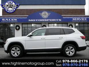 2018 Volkswagen Atlas for sale at Highline Group Motorsports in Lowell MA