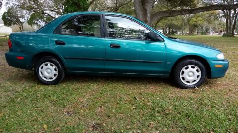 1995 Mazda Protege for sale at Coastal Car Brokers LLC in Tampa FL
