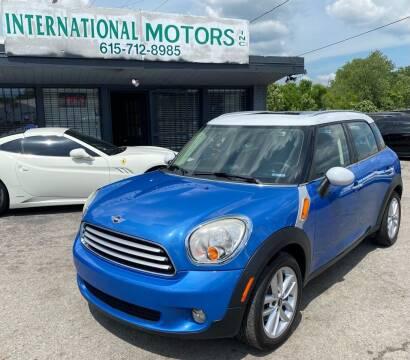 2011 MINI Cooper Countryman for sale at International Motors Inc. in Nashville TN