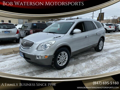 2012 Buick Enclave for sale at Bob Waterson Motorsports in South Elgin IL