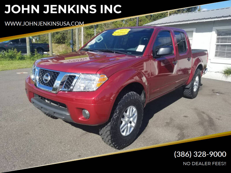 2019 Nissan Frontier for sale at JOHN JENKINS INC in Palatka FL