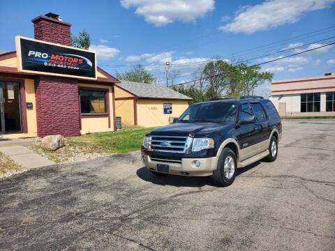 2007 Ford Expedition for sale at Pro Motors in Fairfield OH
