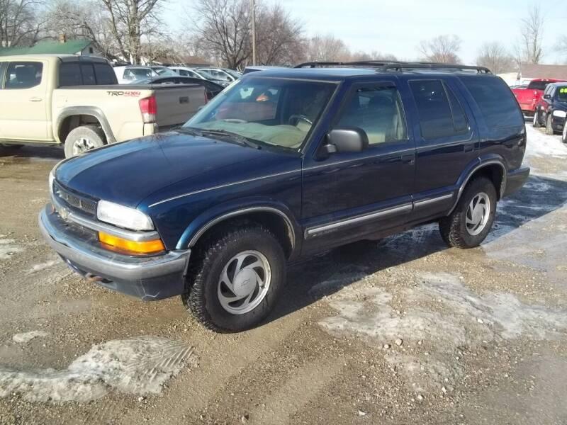 2001 Chevrolet Blazer for sale at BRETT SPAULDING SALES in Onawa IA