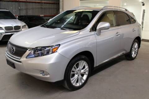 2012 Lexus RX 450h for sale at ESPI Motors in Houston TX