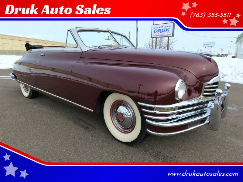 1948 Packard Super 8 Victoria for sale at Druk Auto Sales in Ramsey MN