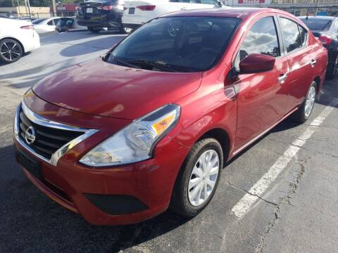 2017 Nissan Versa for sale at Castle Used Cars in Jacksonville FL