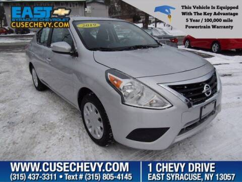 2019 Nissan Versa for sale at East Syracuse Performance Sales & Service in Syracuse NY