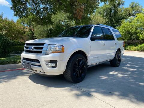 2017 Ford Expedition for sale at Motorcars Group Management - Bud Johnson Motor Co in San Antonio TX