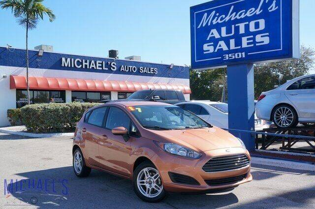 2017 Ford Fiesta for sale at Michael's Auto Sales Corp in Hollywood FL