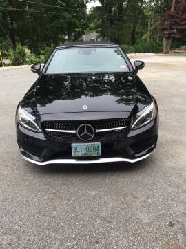 2018 Mercedes-Benz C-Class for sale at Dave's Garage Inc in Hampton Beach NH