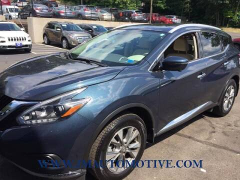 2018 Nissan Murano for sale at J & M Automotive in Naugatuck CT