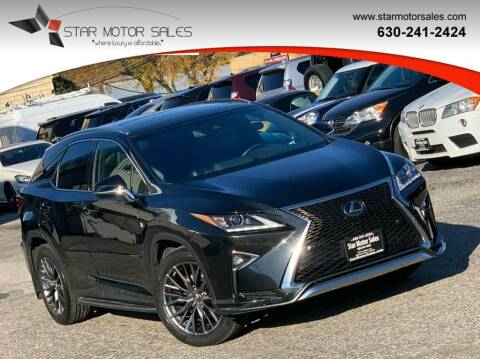 2017 Lexus RX 350 for sale at Star Motor Sales in Downers Grove IL