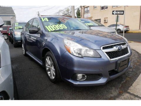 2014 Subaru Legacy for sale at M & R Auto Sales INC. in North Plainfield NJ