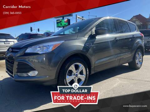 2015 Ford Escape for sale at Corridor Motors in Cedar Rapids IA