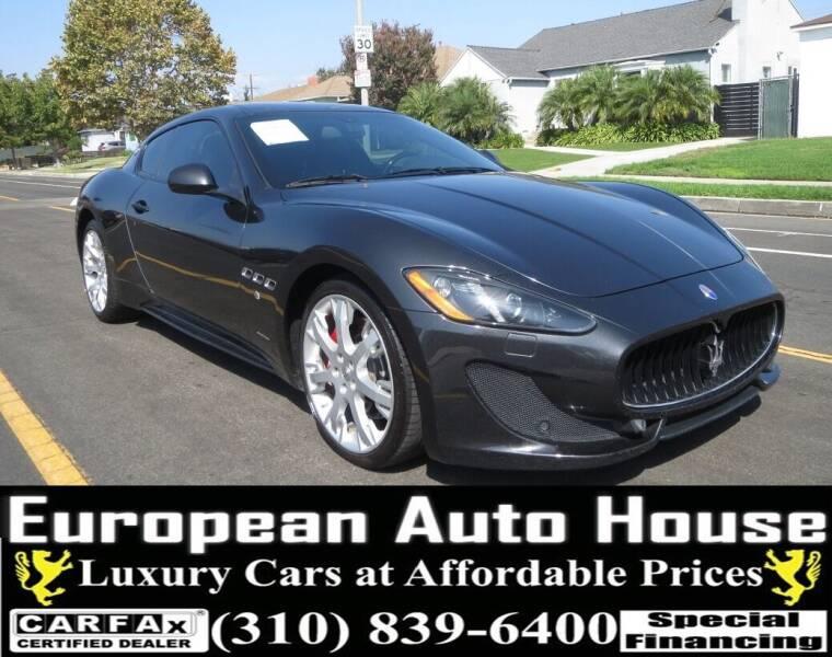 2014 Maserati GranTurismo for sale at European Auto House in Los Angeles CA