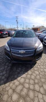 2013 Chevrolet Malibu for sale at Chicago Auto Exchange in South Chicago Heights IL