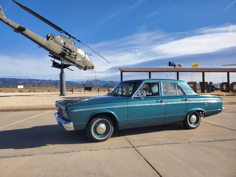 1966 Plymouth Valiant for sale at Pikes Peak Motor Co in Penrose CO