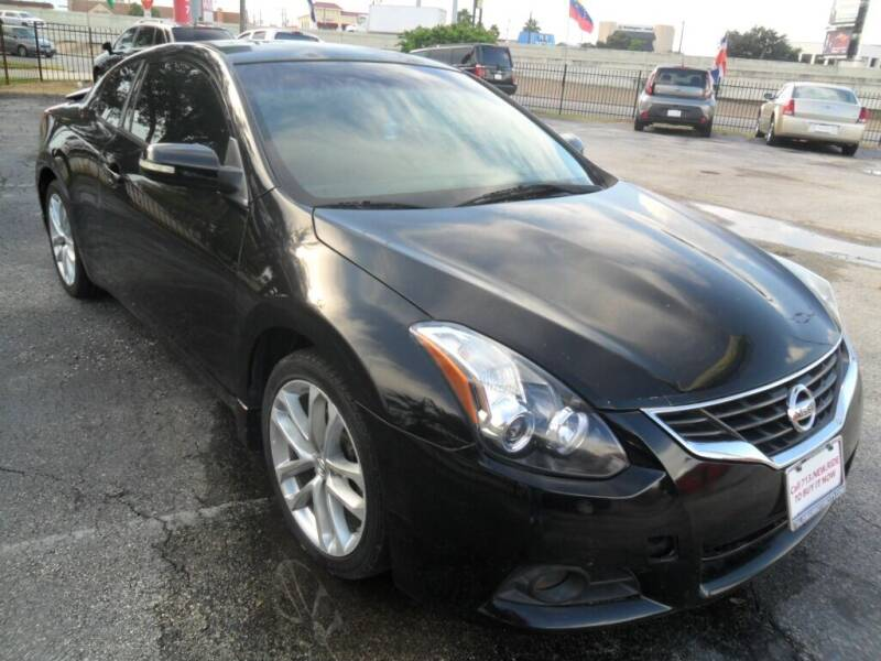 2012 Nissan Altima 3.5 SR 2dr Coupe CVT - Houston TX