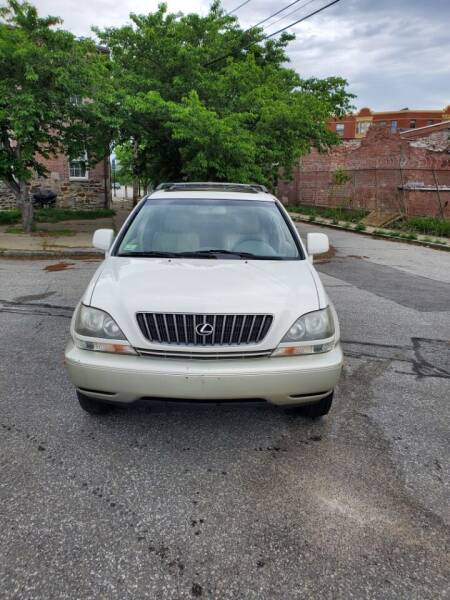 1999 Lexus RX 300 for sale at EBN Auto Sales in Lowell MA