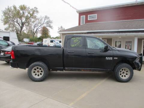 2013 RAM Ram Pickup 1500 for sale at Schrader - Used Cars in Mount Pleasant IA