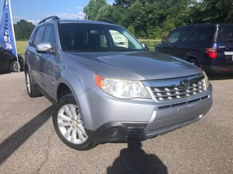 2012 Subaru Forester for sale at RPM AUTO LAND in Anniston AL