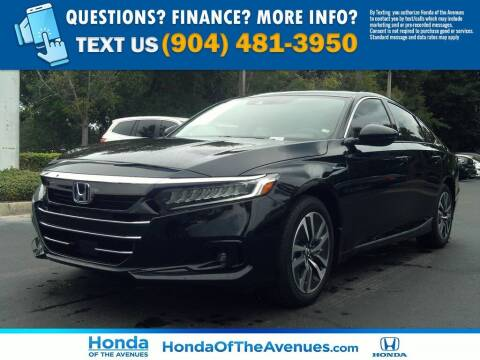 2021 Honda Accord Hybrid for sale at Honda of The Avenues in Jacksonville FL