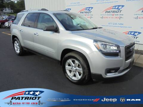 2014 GMC Acadia for sale at PATRIOT CHRYSLER DODGE JEEP RAM in Oakland MD