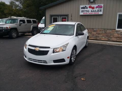 2011 Chevrolet Cruze for sale at QS Auto Sales in Sioux Falls SD