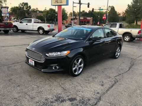 2013 Ford Fusion for sale at Bibian Brothers Auto Sales & Service in Joliet IL