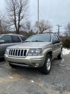 2004 Jeep Grand Cherokee for sale at Jack Bahnan in Leicester MA