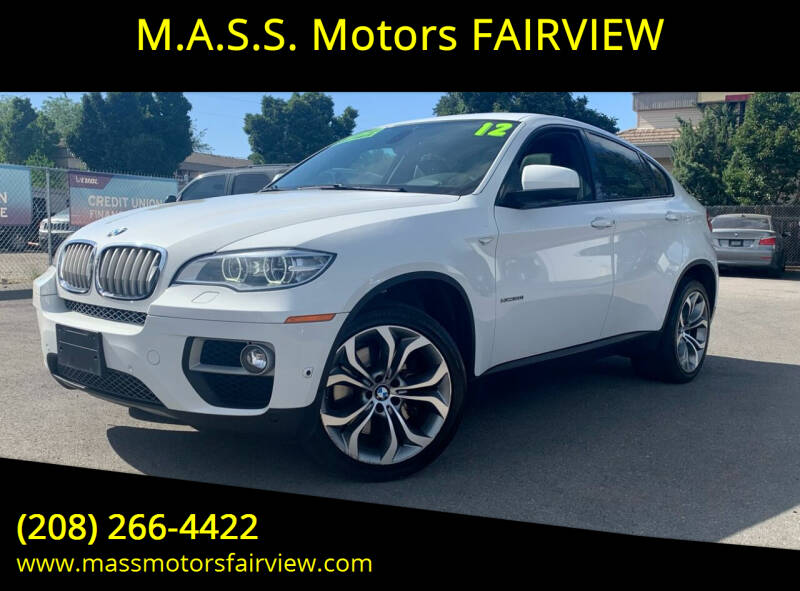 2013 BMW X6 for sale at M.A.S.S. Motors - Fairview in Boise ID