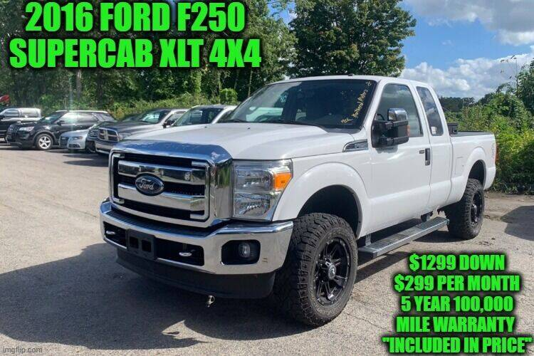 2016 Ford F-250 Super Duty for sale at D&D Auto Sales, LLC in Rowley MA