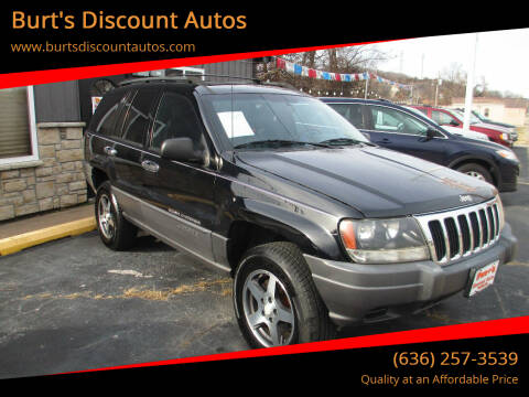 2001 Jeep Grand Cherokee for sale at Burt's Discount Autos in Pacific MO