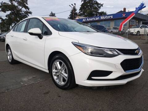 2017 Chevrolet Cruze for sale at All American Motors in Tacoma WA