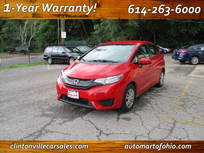 2017 Honda Fit for sale at Clintonville Car Sales in Columbus OH
