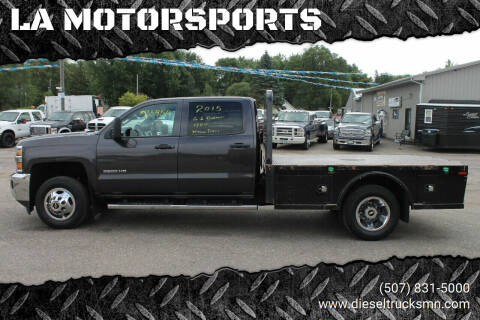 2015 Chevrolet Silverado 3500HD CC for sale at LA MOTORSPORTS in Windom MN