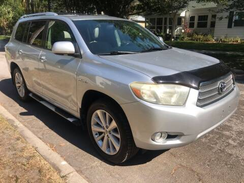 2009 Toyota Highlander Hybrid for sale at Florida Coach Trader Inc in Tampa FL