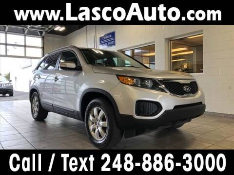 2013 Kia Sorento for sale at Lasco of Waterford in Waterford MI