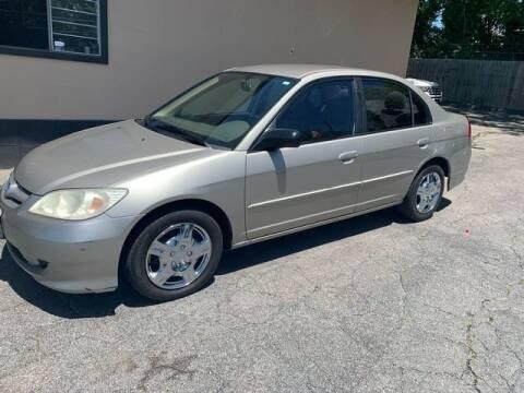 2005 Honda Civic for sale at M&M's Auto Sales & Detail in Kansas City KS