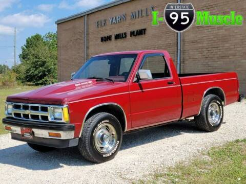 1991 GMC Sonoma for sale at I-95 Muscle in Hope Mills NC