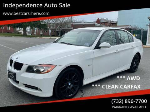 2007 BMW 3 Series for sale at Independence Auto Sale in Bordentown NJ